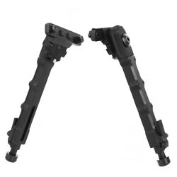 M LOK 7.5quot; 9quot; Rifle Bipod Lightweight Adjustable for Gun Hunting Matte Black $28.85