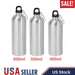Stainless Steel Water Bottle Double Wall Vacuum Insulated Sports Flask 400-600ML