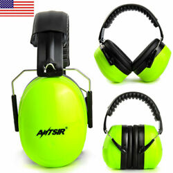 US Folding Ear Muffs Noise Canceling Safty Hearing Gun Shooting Protector 34dB