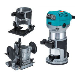 Trimmer Compact Router Kit  Hand Laminate 710W Plunge &Tilt 3 Base for Makita