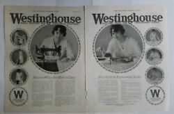 1917 Westinghouse appliances sewing machine small motors household ad $9.99