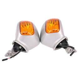 Left Right Rear View LED Mirrors Turn Signals For Honda Goldwing GL1800 F6B 2017