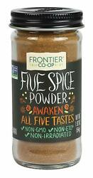 Frontier Natural Products Five Spice Powder 1.92 oz 54 g $9.94