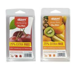 Airpure Exotic Fruits & Cherry Berry Scented Wax Melts 16 Uses - 25% EXTRA FREE