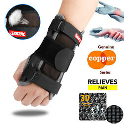 Wrist Support Hand Brace Carpal Tunnel Splint-Arthritis Protector Glove Relieve