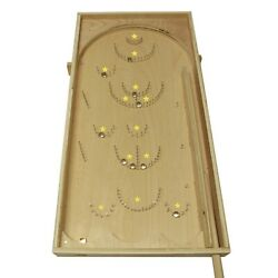 DIY Vintage Pinball Kit Build Your Own Wooden Bagatelle Board Game $94.95
