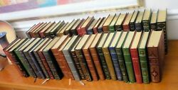 FRANKLIN LIBRARY 14 LEATHER BOOKS ca 1980 CLASSICS SOLD INDIVIDUALLY $15BK