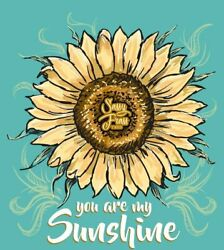 Sassy Frass You are My Sunshine Sunflower Comfort Colors Long Sleeves Bright Gir $34.99