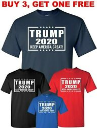 Donald TRUMP T Shirt President 2020 Keep America Great Political T-Shirt tee