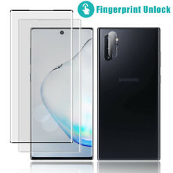 For Samsung Galaxy Note 10 Plus 5G 3D Full Cover Tempered Glass Screen Protector