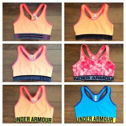 NEW Under Armour Women Sports Bra No Padded Top Gym Yoga Fitness Size S M $9.99
