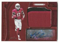 2019 CERTIFIED FOTL HAKEEM BUTLER FRESHMAN FABRIC RED ETCH 3 COLOR RPA #125