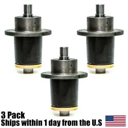 3PK Spindle Assembly for 037-6015-00 037-6015-50 Bad Boy CZT Model Commercial  $201.99