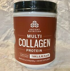 Dr. Axe Ancient Nutrition Multi Collagen Protein Powder Exp 122020 Brand New FS