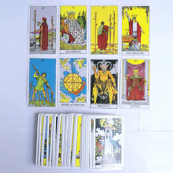 The Most Popular Tarot Deck 78 Cards English Version Future Telling Sealed $11.98