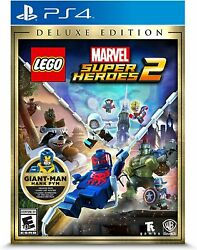 LEGO Marvel Super Heroes 2: Deluxe Edition (PlayStation 4 2017) Brand NEW!!