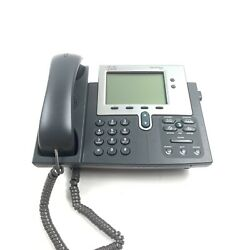 Cisco 7941 CP-7941G 2-Line Unified IP VoIP Office Business Phone -TestedWorking