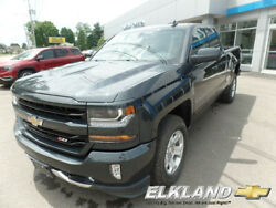 2019 Chevrolet Silverado 1500 Z71 4x4 Double Cab LT MSRP $47325 Heated Seats  Remote Start  Rear Camera  Spray Liner