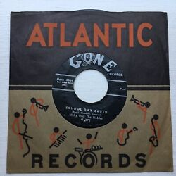 NICKY AND THE NOBLES (CONE) RARE- 7' Vinyl SCHOOL BELLS SCHOOL DAY CRUSH