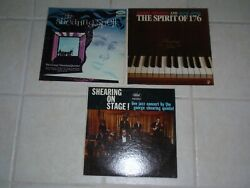 George Shearing ~The Shearing SpellThe Spirit of 176Shearing on Stage! ~3