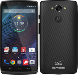 Great Verizon Motorola Droid Turbo XT1254 Black 32GB Android Smartphone