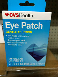 EYE PATCH patches COVER disposable Cheap inexpensive CVS 20ct gentle adhesion $5.49