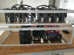 Crypto Currency Miner 8 x EVGA GeForce GTX 1060 3GB (Etherium and Beam )