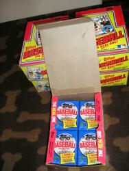 1983 TOPPS BASEBALL UNOPENED WAX PACK (1) - FROM FULL BOXES - BOGGS GWYNN RC?