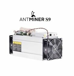1 NEW Antminer S9-BTC Miner-With Bitmain PSU - Free Shipping