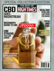 Best Of High Times 2020 #88 CBD Goes Mainstream NewSealedCollector's Edition