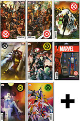 HOUSEPOWERS OF X #123456 Variant Incentive Exclusive+ ~ Marvel Comics