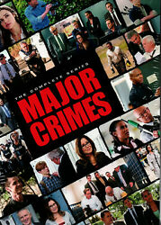 Major Crimes:The Complete Series 24 DVD  Box Set New Free Shipping   USA