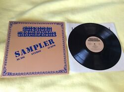 Various Sampler Vinyl=NM 12