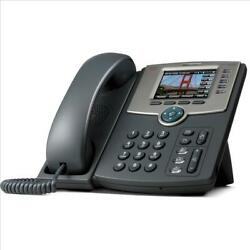 Used Cisco SPA525G2 5-Line Business IP Phone Color Display Wi-Fi Bluetooth