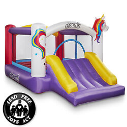 Cloud 9 Unicorn Bounce House with Slide and Blower Inflatable Bouncer with Bag $229.49