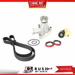 DNJ TBK448WP Timing Belt Kit Water Pump For 95-01 Mazda B2300 2.3L SOHC 8v
