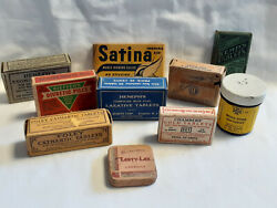 Vtg Drug Store Pharmacy Lot Worm Wood Cold Stomach Laxative Cathartic Tablet $39.95