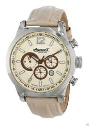 Ingersoll Men#x27;s IN3220CH Taos Analog Display Automatic Self Wind Beige Watch $95.50