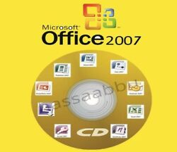 Microsoft Office 2007 Professional Full Version Access Excel Word etc 5PCS *