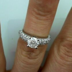 18K WG DIAMOND SOLITAIRE RING (70PTS G VS2 ) with shoulder dia 4.77G