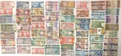 69 x Mixed Banknote Collection - AFRICA. (3089)
