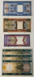6 x Mixed Banknote Collection - MAURITANIE North Africa. (3080)