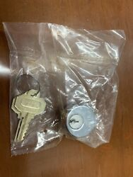 Baldwin 8321.260 1quot; Mortise Cylinder Polished Chrome NEW $12.99