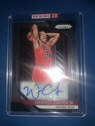 2018-19 Panini Prizm Wendall Carter JR Rookie AUTO MINT Sealed By Panini