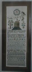 IRK 1812 Reproduction Sampler Samplers and Such $12.00