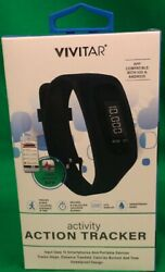 Vivitar Activity Action Tracker Fitness Watch Works With IOS & ANDROID
