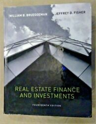 Real Estate Finance & Investments Brueggeman and Fisher 14th Edition Hardcover