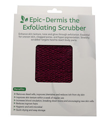 Exfoliating scrubbers in 10 colors widely used in Africa as African sponges