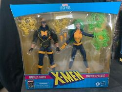 Marvel Legends 80th Anniversary Havok & Polaris Two-Pack 2-Pack NEW In Hand!!!