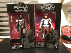 Star Wars Black Series First Order Elite Snowtrooper Target & Mandalorian